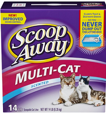 $1 off any One Scoop Away Cat Litter – Frugal Harbor