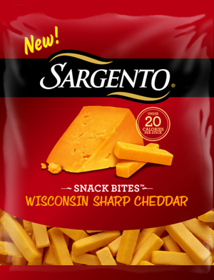 75 off any One Sargento Snacks Bites Cheese Snack ($2 18 at