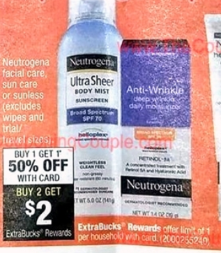 Neutrogena Oil-Free Acne Wash Daily Scrub for $2.22 each Starting 06/18! (normally $6.29)
