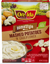 nicer value 1 50 off one box of ore ida mashed potatoes frugal