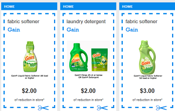 photograph about Gain Printable Coupons called $10 In just Superior Great importance Printable Discount coupons legitimate upon Earnings! ($.95