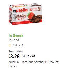 New Smartsource Coupons: Nutella, P F  Changs, Orange Juice