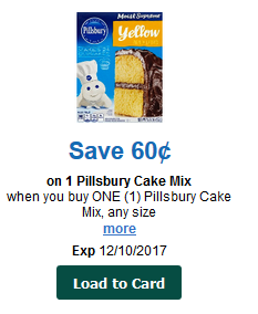 Is Pillsbury Cake Mix Peanut Free