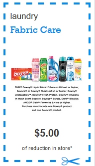 image relating to Downy Printable Coupons named $5 off A few Choose Downy or Leap Items and $2 off Tide