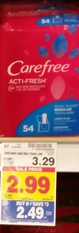 $5 in Savings on Always, Carefree & Stayfree Products (Pads