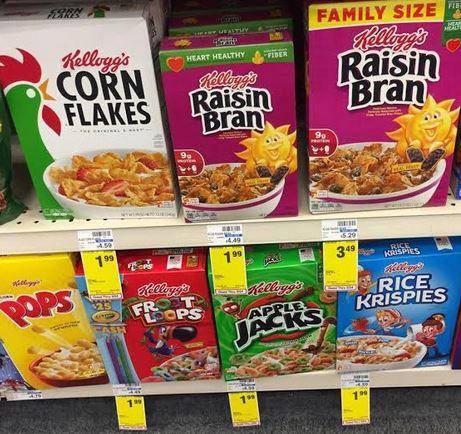 3 Off Any Five Kellogg S Cereals 1 39 A Box At Cvs