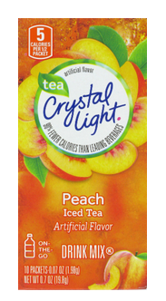 Through 03/06, Kroger Has Crystal Light And Crystal Light On The Go Drink  Mixes Priced At $1.49 As Part Of The Kroger Mega Sale When You Purchase 5  ...