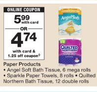 Off Any One Quilted Northern Bath Tissue Double Roll Or - Bathroom tissue on sale