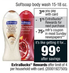 photo relating to Softsoap Printable Coupon identified as Refreshing $.75 off A person SoftSoap Entire body Clean Printable Coupon! ($.99