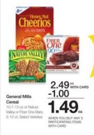 photo relating to Nature Valley Printable Coupons named Breakfast Bars Beverages Frugal Harbor