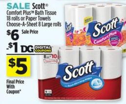 Toilet Paper Coupons Frugal Harbor