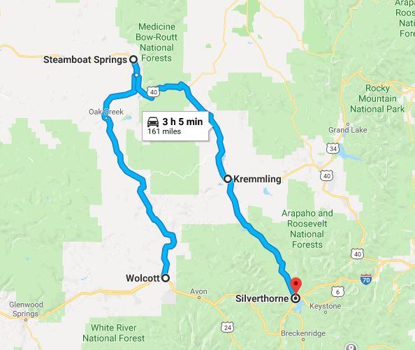 Scenic Drive: Colorado – Fish Creek Falls & Rabbit Ears Pass Scenic ...